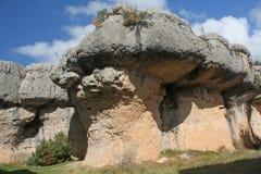 The enchanted city, mushroom-shaped rocks Stock Images