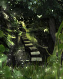 Enchanted Evening With the Faeries Stock Images