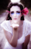 Enchanted Fairy Kisses Royalty Free Stock Images