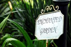 Enchanted Garden Royalty Free Stock Photos