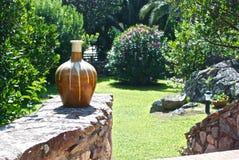 Enchanted Garden. Garden of Sardinia. Summer Royalty Free Stock Photos