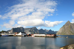 Enchanted Hamnoy Stock Images