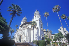 The Enchanted Hill and Casa Grande at Hearst Castle, San Simeon, Central Coast, California Stock Photo