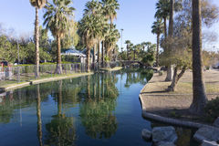 Enchanted Island in Encanto Park, Phoenix, AZ Stock Photo