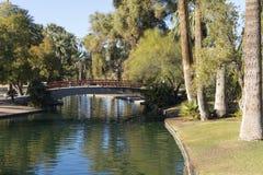 Enchanted Island in Encanto Park, Phoenix, AZ Royalty Free Stock Image