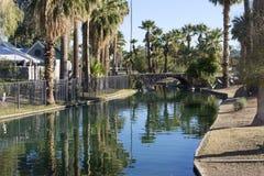 Enchanted Island in Encanto Park, Phoenix, AZ Stock Photos