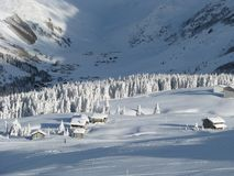 Heavy snowfall Royalty Free Stock Photography
