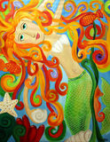 Enchanted mermaid Stock Photography
