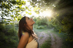 Enchanted by Nature Royalty Free Stock Photography
