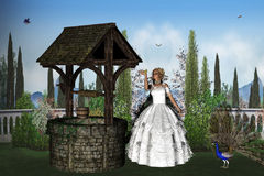 Enchanted Prince. 3d render of Enchanted Prince Royalty Free Stock Photography