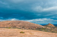 Enchanted Rock near Fredricksburg , Texas Stock Image