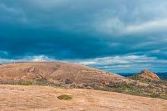 Enchanted Rock near Fredricksburg , Texas stock image