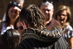 Enchanter de la serpiente Fotos de archivo libres de regalías