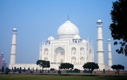 Enchanting beauty of Taj Mahal Royalty Free Stock Photos