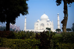 Enchanting beauty of Taj Mahal Stock Photo