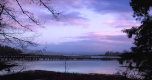 Enchanting Morning On The Columbia River royalty free stock photo