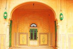 Enchanting Nahargarh fort jaipur rajasthan india Royalty Free Stock Image