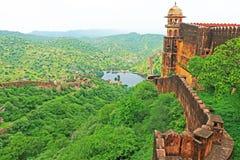 Enchanting Nahargarh fort jaipur rajasthan india Royalty Free Stock Photo
