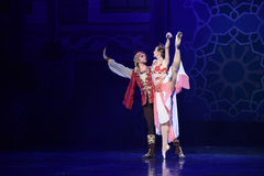 """Enchanting queen- ballet """"One Thousand and One Nights"""" Stock Photos"""
