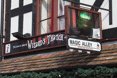 The Enchanting World of Wizards Thatch in Stratford-Upon-Avon Royalty Free Stock Image