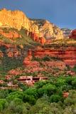 Enchantment resort sunrise Stock Photography