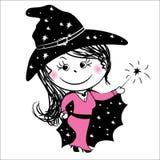 Enchantress, fairy, vector Stock Photos