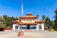 The Enchey Monastery Stock Photography