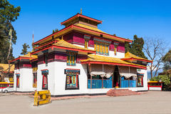 The Enchey Monastery. Is a Vajrayana Buddhism monastery in Sikkim, India Stock Images