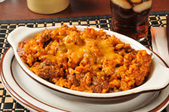 Enchilada casserole Stock Images