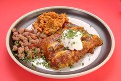 Enchilada Dinner Royalty Free Stock Photography