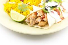 Enchilada Rice Stock Photo
