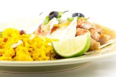 Enchilada Rice Stock Photography