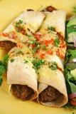 enchiladas говядины Стоковые Изображения