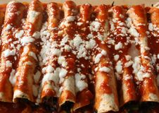 Enchiladas Stockfotos