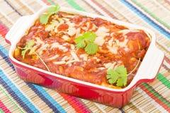 enchiladas Arkivbild