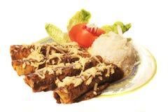 Enchiladas Stock Photography