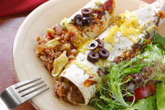 Enchiladas Stock Photo