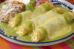 Enchiladas Foto de Stock Royalty Free