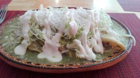 Enchiladas Fotografía de archivo