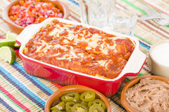 Enchiladas Stock Photography