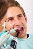 Enchimento dental Foto de Stock