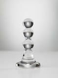 Enchufe de cristal del tope Foto de archivo libre de regalías