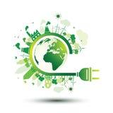 Enchufe de Eco libre illustration