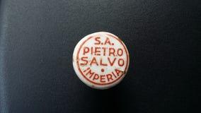 Enchufe de la botella de la vid Foto de archivo libre de regalías