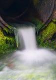 Enchufe de las aguas residuales Imagen de archivo