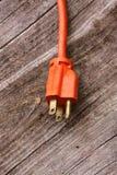 Enchufe del cable eléctrico Fotos de archivo