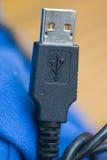Enchufe del USB Imágenes de archivo libres de regalías