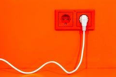 Enchufe eléctrico Fotos de archivo libres de regalías