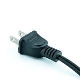 Enchufe eléctrico - enchufe Imagen de archivo libre de regalías