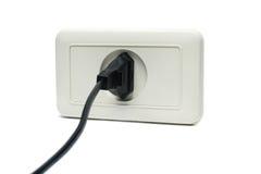 Enchufe el socket Imagen de archivo libre de regalías